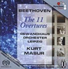 Ludwig van Beethoven (1770-1827): Ouvertüren (Ges.-Aufn.), 2 SACDs
