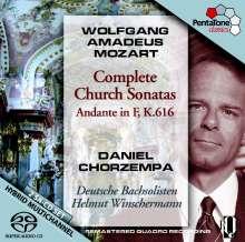 Wolfgang Amadeus Mozart (1756-1791): Kirchensonaten für Orgel & Orchester, 2 SACDs