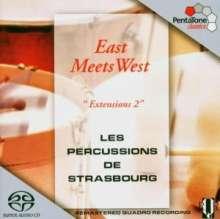 Les Percussions de Strasbourg - Eats meets West, Super Audio CD