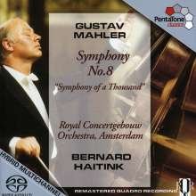 Gustav Mahler (1860-1911): Symphonie Nr.8, Super Audio CD