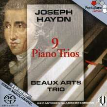 Joseph Haydn (1732-1809): Klaviertrios H15 Nr.2,5-12, 2 SACDs