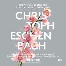 Ludwig van Beethoven (1770-1827): Klavierkonzerte Nr.3 & 5, SACD