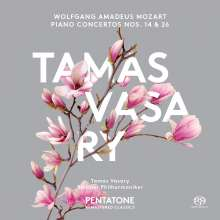 Wolfgang Amadeus Mozart (1756-1791): Klavierkonzerte Nr.14 & 26, SACD