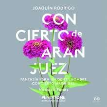 Joaquin Rodrigo (1901-1999): Concierto de Aranjuez für Gitarre & Orchester, SACD