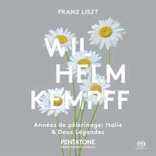 Franz Liszt (1811-1886): Annees de Pelerinage (2.Jahr:Italien / Auszüge), SACD