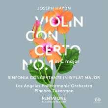 Joseph Haydn (1732-1809): Violinkonzert H7a Nr.1, SACD