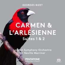 Georges Bizet (1838-1875): Carmen-Suiten Nr.1 & 2, SACD