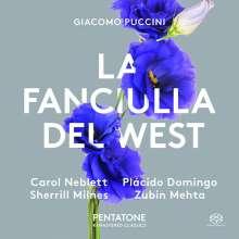 Giacomo Puccini (1858-1924): La Fanciulla del West, 2 SACDs