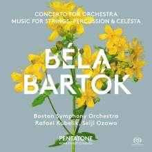 Bela Bartok (1881-1945): Konzert für Orchester, Super Audio CD