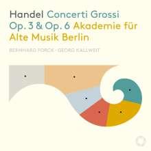 Georg Friedrich Händel (1685-1759): Concerti grossi op.3 Nr.1-6 & op.6 Nr.1-12, 3 CDs