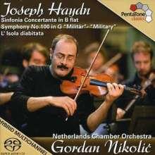 """Joseph Haydn (1732-1809): Symphonie Nr.100 """"Militär"""", SACD"""