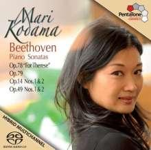 Ludwig van Beethoven (1770-1827): Klaviersonaten Nr.9,10,19,20,24,25, Super Audio CD