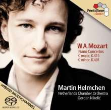 Wolfgang Amadeus Mozart (1756-1791): Klavierkonzerte Nr.13 & 24, SACD