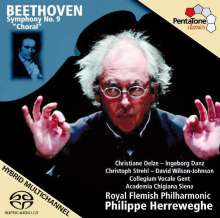 Ludwig van Beethoven (1770-1827): Symphonie Nr.9, Super Audio CD