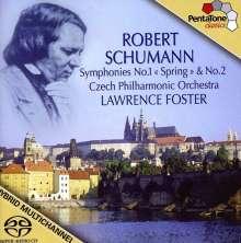 Robert Schumann (1810-1856): Symphonien Nr.1 & 2, SACD