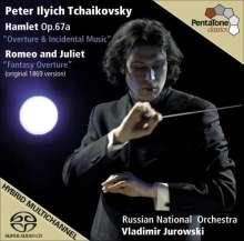 Peter Iljitsch Tschaikowsky (1840-1893): Hamlet op.67a (Ouvertüre & Bühnenmusik), Super Audio CD