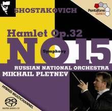Dmitri Schostakowitsch (1906-1975): Symphonie Nr.15, Super Audio CD