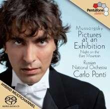 Modest Mussorgsky (1839-1881): Bilder einer Ausstellung (Orch.Fass.), SACD