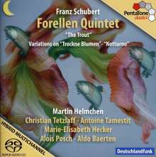 """Franz Schubert (1797-1828): Klavierquintett D.667 """"Forellenquintett"""", Super Audio CD"""