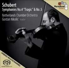 Franz Schubert (1797-1828): Symphonien Nr.4 & 5, SACD