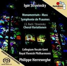 Igor Strawinsky (1882-1971): Psalmensymphonie, SACD