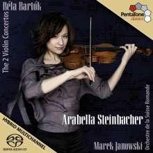 Bela Bartok (1881-1945): Violinkonzerte Nr.1 & 2, SACD