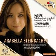 Arabella Steinbacher spielt Violinkonzerte, SACD
