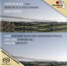 Vincent d'Indy (1851-1931): Symphonie sur un chant montagnard français für Klavier & Orchester op.25, Super Audio CD