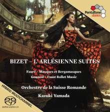 Georges Bizet (1838-1875): L'Arlesienne-Suiten Nr.1 & 2, SACD