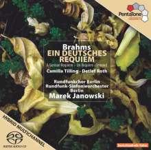 Johannes Brahms (1833-1897): Ein Deutsches Requiem op.45, SACD