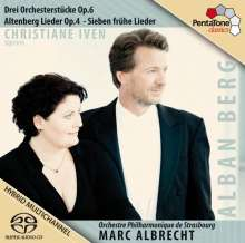 Alban Berg (1885-1935): Orchesterstücke op.6 Nr.1-3, SACD