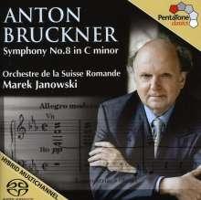Anton Bruckner (1824-1896): Symphonie Nr.8, Super Audio CD
