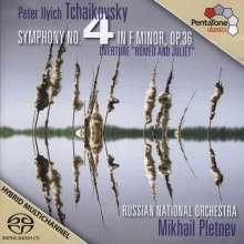 Peter Iljitsch Tschaikowsky (1840-1893): Symphonie Nr.4, Super Audio CD