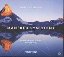 Peter Iljitsch Tschaikowsky (1840-1893): Manfred-Symphonie op.58, Super Audio CD