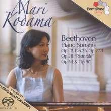 Ludwig van Beethoven (1770-1827): Klaviersonaten Nr.11-13,15,22,27, 2 Super Audio CDs