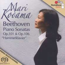 Ludwig van Beethoven (1770-1827): Klaviersonaten Nr.28 & 29, Super Audio CD