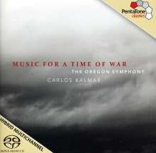 The Oregon Symphony - Music for a Time of War, Super Audio CD