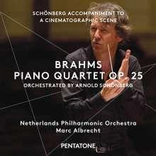 Johannes Brahms (1833-1897): Klavierquartett op.25 (in der Bearbeitung von Schönberg), Super Audio CD