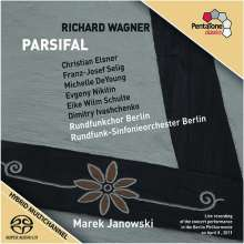 Richard Wagner (1813-1883): Parsifal, 4 Super Audio CDs