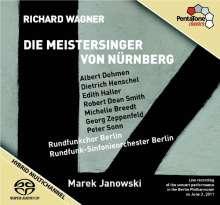 Richard Wagner (1813-1883): Die Meistersinger von Nürnberg, 4 Super Audio CDs