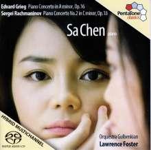 Sa Chen spielt Klavierkonzerte, SACD