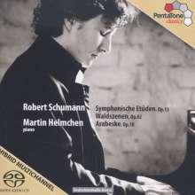 Robert Schumann (1810-1856): Symphonische Etüden op.13, SACD