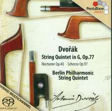 Antonin Dvorak (1841-1904): Streichquintett op.77, SACD