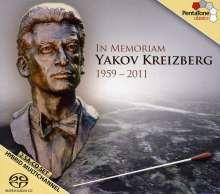 In Memoriam Yakov Kreizberg, 2 Super Audio CDs