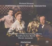 Richard Strauss (1864-1949): Sinfonia Domestica op.53, Super Audio CD