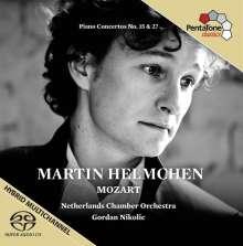 Wolfgang Amadeus Mozart (1756-1791): Klavierkonzerte Nr.15 & 27, Super Audio CD