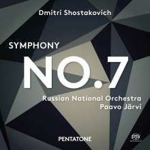 "Dmitri Schostakowitsch (1906-1975): Symphonie Nr.7 ""Leningrad"", SACD"
