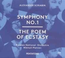 Alexander Scriabin (1872-1915): Symphonie Nr.1, SACD