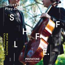 Matt Haimovitz & Christopher O'Riley - SHUFFLE.Play.Listen, 2 SACDs