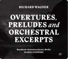 Richard Wagner (1813-1883): Orchesterstücke, 2 SACDs